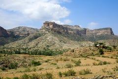 Paysage rocheux de la région d'Irob Tigray, Ethiopie photo libre de droits