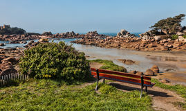 Lanscape en Bretagne Photos stock