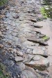 Paysage rocheux Whitley Bay Northumbria England photo libre de droits