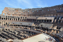 Paysage romain de colosseum Photos stock