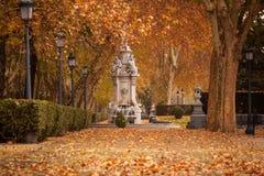 Paysage romantique de Madrid historique Photographie stock libre de droits