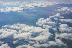 Paysage rural aérien près d'aéroport de Gatwick Photographie stock libre de droits