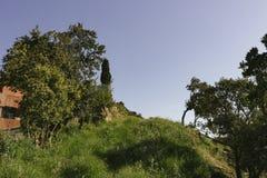 Paysage rural Begur photo libre de droits