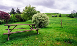 Paysage rural calme images libres de droits