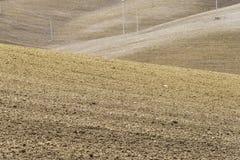 Paysage rural de Basilicate Images stock
