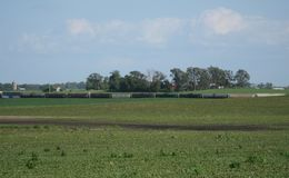 Paysage rural de l'Iowa Images stock