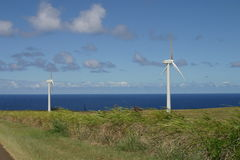 Paysage rural du moulin de vent Images stock