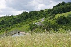 Paysage rural en Italie du nord Photographie stock libre de droits