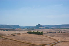 Paysage rural sarde Photo stock