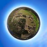 Paysage sauvage de la terre minuscule Image stock