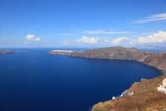Île de Santorni Image libre de droits