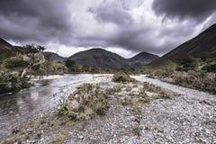 Paysage scénique de secteur de lac, Cumbria, R-U images libres de droits