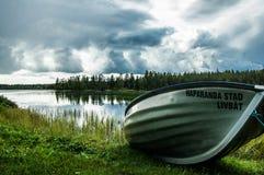 Paysage scandinave de berge en Suède photos libres de droits