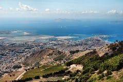 Paysage sicilien Photos libres de droits