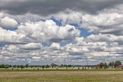 Paysage suédois rural Images stock
