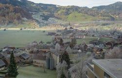 Paysage suisse à son meilleur photographie stock