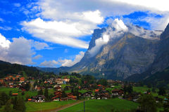 Paysage suisse Photo stock