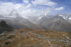 Paysage suisse Image stock