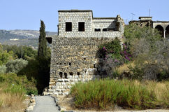 Paysage supérieur de la Galilée, Israël Images libres de droits