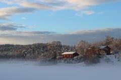 Paysage sur Bygdøy, Oslo, Norvège photo libre de droits
