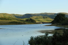 Paysage sur l'île Mull Photographie stock libre de droits