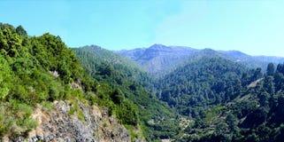 Paysage sur la côte du nord de Lapalma d'île Images libres de droits