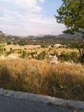 Paysage sur Lovcen Montain photo libre de droits
