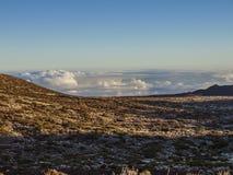 Paysage - Ténérife, Espagne (au-dessus des nuages) Photos libres de droits