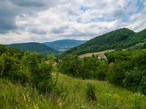 Paysage tchèque Photographie stock