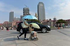 Paysage Tianjin de ville Photo libre de droits