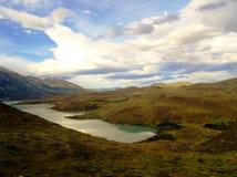 Paysage - Torres del Paine, Patagonia, Chili Photographie stock libre de droits