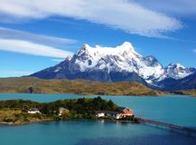 Paysage - Torres del Paine, Patagonia, Chili images stock