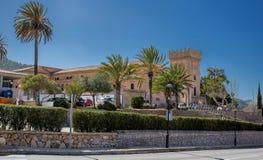 Paysage très beau de Majorque d'île photos stock