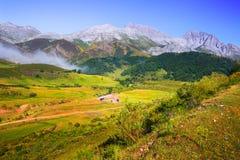 Paysage tranquille de montagne Photographie stock