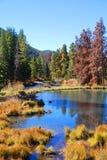 Paysage trapézoïdal d'automne du Colorado Images libres de droits