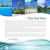 Paysage tropical Images stock