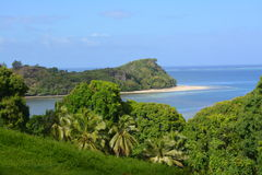 Paysage tropical d'île des Fidji-Kadavu Photos libres de droits