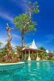 Paysage tropical de vacances Photographie stock libre de droits