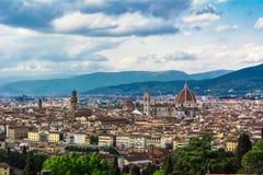 Paysage urbain à Florence, Italie image libre de droits