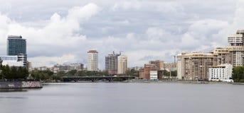 Paysage urbain à Iekaterinbourg, Fédération de Russie photo libre de droits