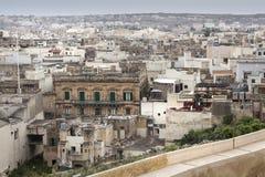 Paysage urbain à Malte Photographie stock libre de droits