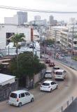 Paysage urbain à Naha l'Okinawa images stock
