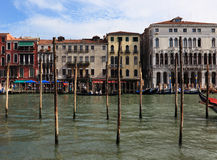 Paysage urbain à Venise Photo libre de droits