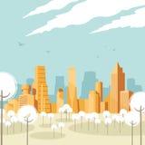 paysage urbain Photos libres de droits