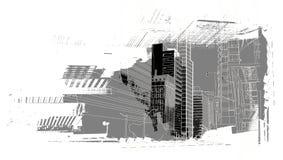 Paysage urbain Image stock