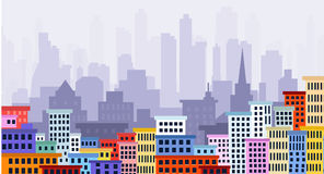 Paysage urbain Photos stock