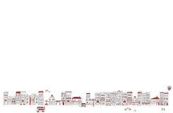 Paysage urbain Photographie stock libre de droits