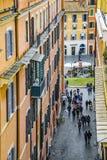Paysage urbain urbain aérien, Rome, Italie Photographie stock libre de droits