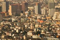 Paysage urbain abstrait Images libres de droits