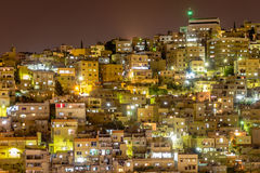 Paysage urbain Amman Jordanie Photos libres de droits
